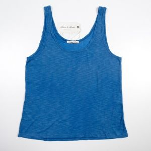 Threads 4 Thought Charlie Top Tank Blue NWT